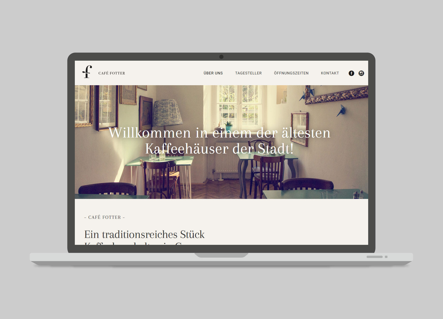 Café Fotter Website